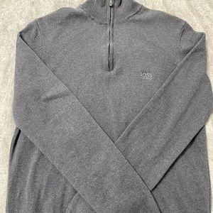 Hugo Boss zipper cardigan
